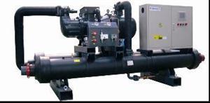 逆流式螺杆式水/地源热泵机组