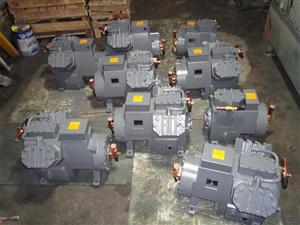 20HP白三菱制冷压缩机冷库安装