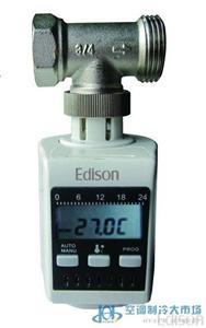 爱迪生电子程式温控阀