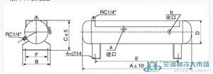 法斯克卧式储液器,FaSiKe,W-14L