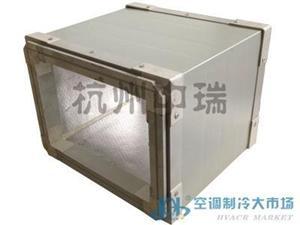 专用单面彩钢复合酚醛风管