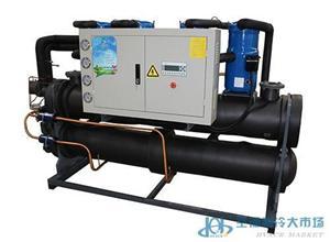 地温中央空调-水地源热泵
