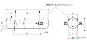 法斯克带证卧式储液器,FaSiKe,E1W-40L
