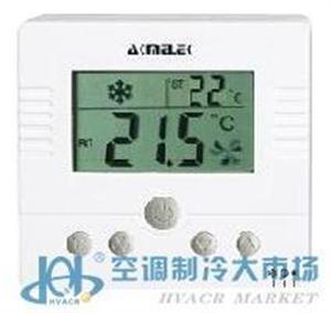 中央空调 风机盘管温度控制器 液晶 可触摸操作