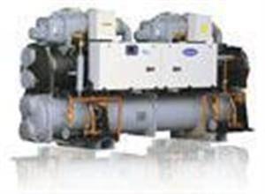 大型螺杆机冷水机组维修