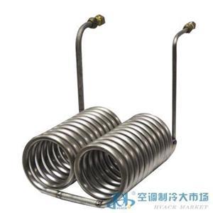 纯钛管(开放式)浸管型蒸发器