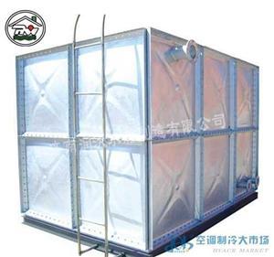 赤峰装配式镀锌钢板水箱