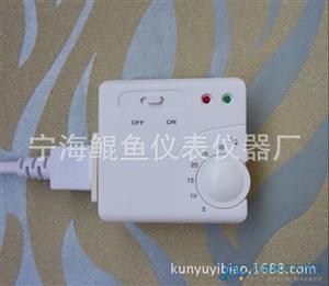 鲲鱼牌C-22碳晶墙暖温控器  可移动插座温控器