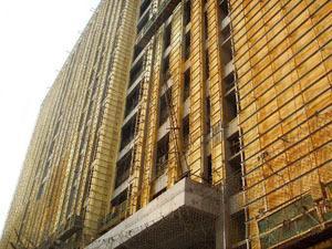 聚氨酯外墙喷涂工程
