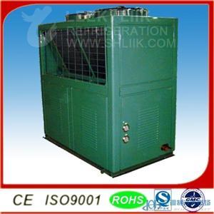 顶吹冷冻冷藏壁挂式分体式制冷设备 5-15HP