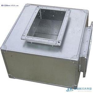 空调静压箱消声器 风机风管孔板静压箱 空调降噪音设备