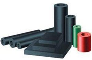 厂家直供 绝热橡塑材料 黑色橡塑保温板