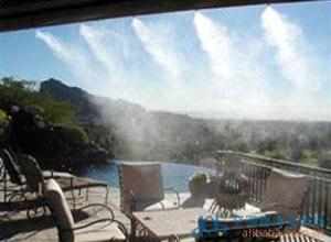 生产安装设计喷淋降温系统 喷雾降温 喷雾降温空调