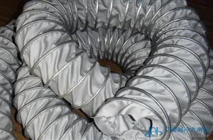 耐400度高温风管,伸缩排风管,帆布风管