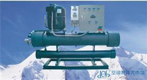 工业大型冷水机 300HP冷水机组 冷凝器蒸发器系统
