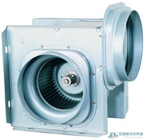 重庆美的静音分体圆形管道新风机新风系统通风设备