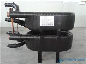 5P/匹套管式冷凝器 风冷冷热水机组用换热器