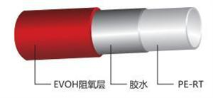 PERT三层阻氧品牌地暖管