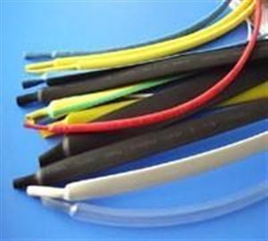 线束专用耐高温125度无卤环保阻燃PE彩色热缩套管