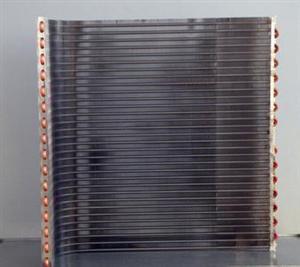 风冷水冷铜管铝翅片冷排冰柜冷凝器蒸发器铜管回路散热