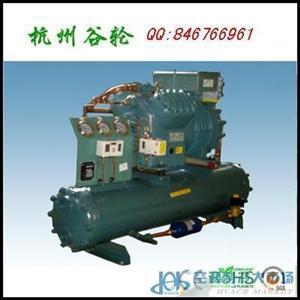 比泽尔单机双级压缩冷凝机组 速冻冷库制冷设备 S6G-25
