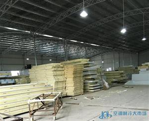 聚氨酯保温型冷库板