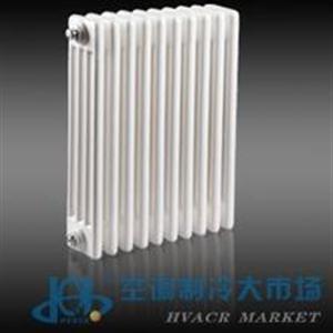河北春圣冀暖鋼制柱式散熱器美觀價格低柱式采暖散熱器