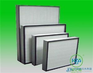 西安耐高温高效过滤器厂家 高效空气过滤网