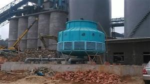 广东珠江牌方形横流冷却塔
