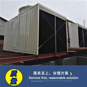 广东冷却塔揭阳钢厂降温冷却水塔FD-150横流方形冷却水