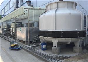 南京中央空调冷却塔清洗 水处理维保 冷却塔保养