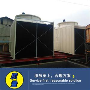 淮安100T方形冷却塔100T工业循环水冷水塔
