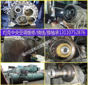 福建特灵离心机维修售后,福州螺杆机维保,水处理
