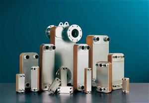 HC单系统(1) 铜钎焊板式换热器 热交换器 冷凝器 蒸发