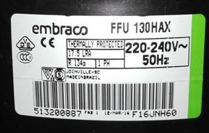 恩布拉科FFU 160HAX冰柜 橱柜 酒柜 船用高端压缩机