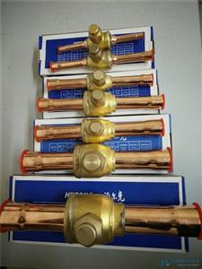 冷库空调制冷直通焊接铜球阀球形截止阀PKB-06/10m