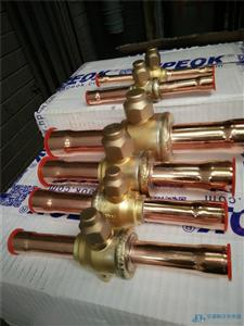 冷库空调制冷直通焊接铜球阀球形截止阀PKB-08/12mm