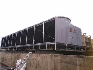 宜章工业方塔风度2000T玻璃钢冷却塔