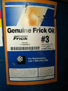 约克工业冷冻油Frick #3(111Q0550010)55加仑/桶