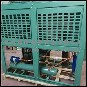 沈阳谷轮6S401D半封闭箱式风冷机组40匹低温冷库制冷机