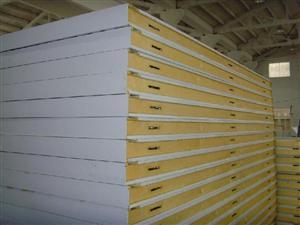 冷库保温板 双面彩钢聚氨酯保温板 100mm 支持定做 厂