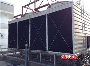 广西冷却塔维修1800T冷却塔填料更换风机更新