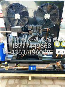 BFS101风冷机组 平板冷凝器 侧出风敞开式机组
