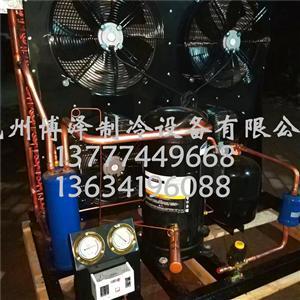 ZB114敞开式风冷机组 侧出风平板冷凝器