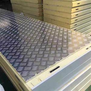 压花铝冷库板
