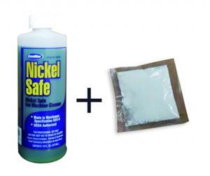 镍康:制冰机清洗液+消毒粉