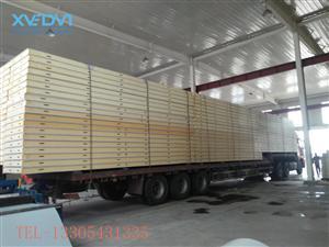 国标聚氨酯冷库板保温 冷库板厂家定制安装