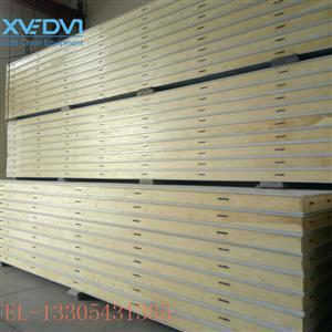 防火聚氨酯冷库板   保温冷库板定制   彩钢夹芯保温复合板