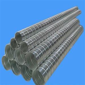 东莞宇晨通风管专业加工镀锌螺旋风管及配件
