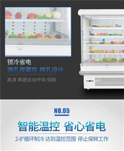 森加电器SJ-FMG001超市风幕柜冷藏保鲜柜